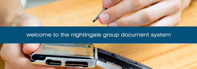 Welcome to the Nightingale Group Document System